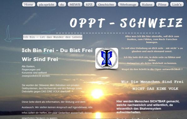 OPPT Schweiz Webseiten Screen